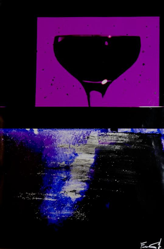 drink - china e graffi su foto