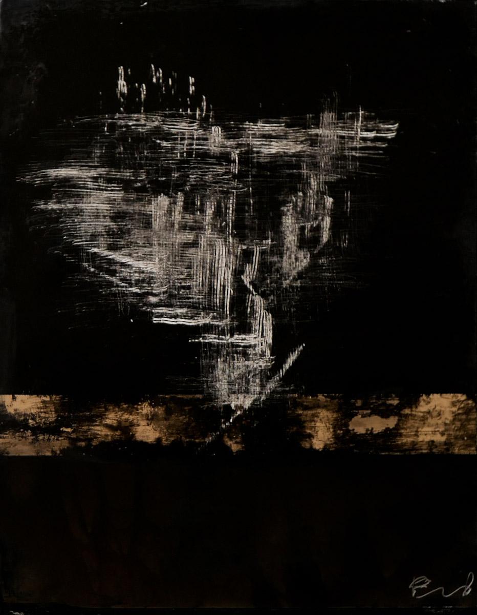 tree #5 - graffi su carta fotografica analogica